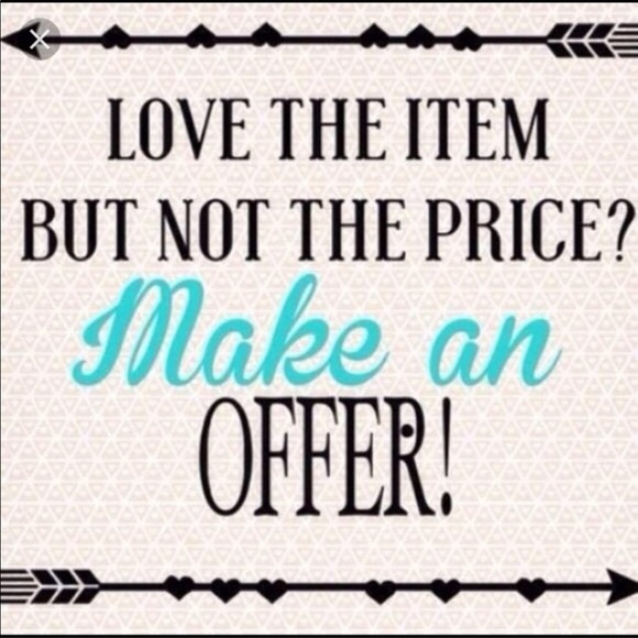 ALL Other - Will accept  REASONABLE offers on items over $10!